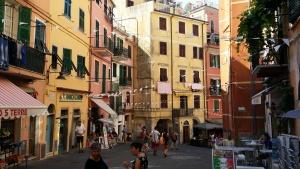 Pastel shades of Italy.