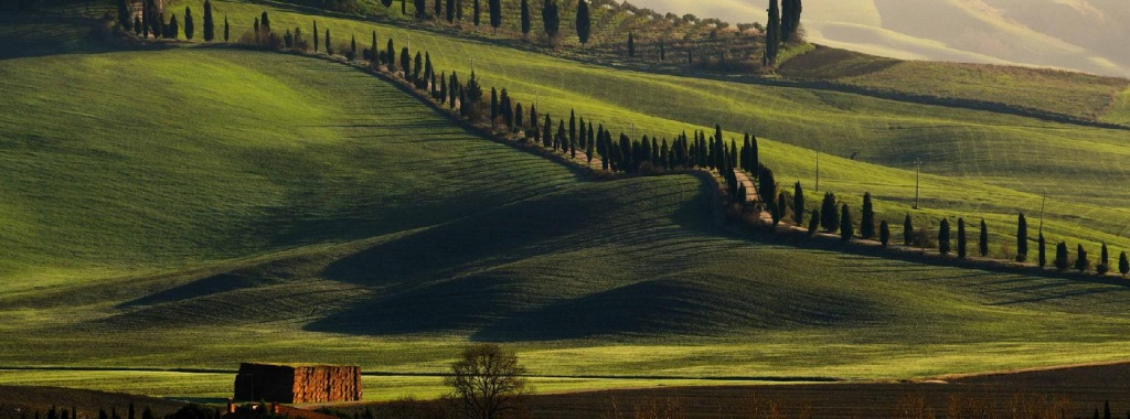 Holidays in Tuscany.