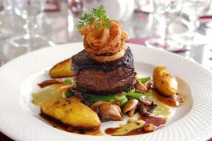 Food at Wilton Court Hotel, Ross-on-Wye