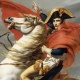 Napoleon hunted by Red coats